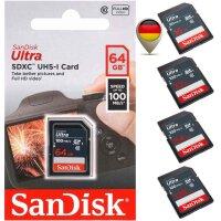 Sandisk Ultra SD UHS-I Speicherkarte