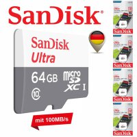 SanDisk Ultra microSD 80-100MB/s