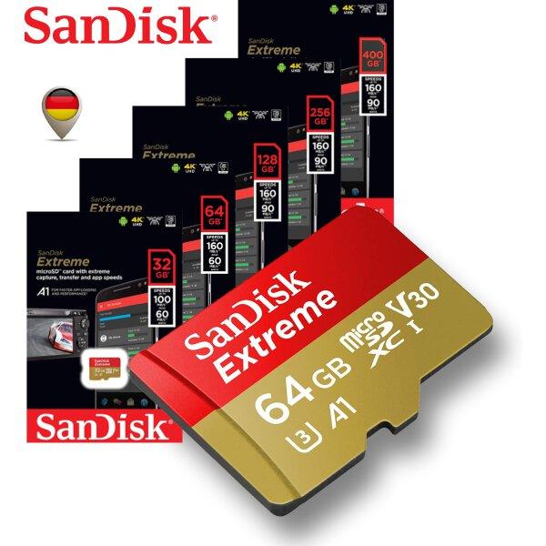 SanDisk Extreme 4K microSD