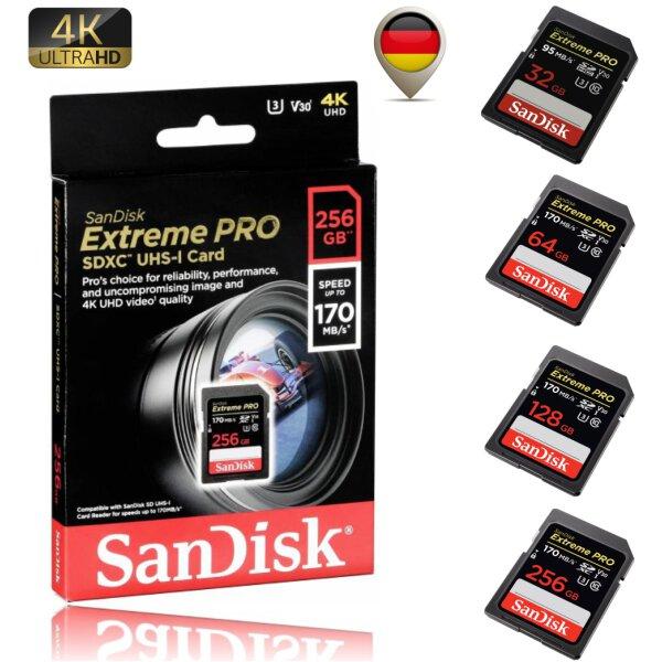 SanDisk Extreme Pro 4K SD Card