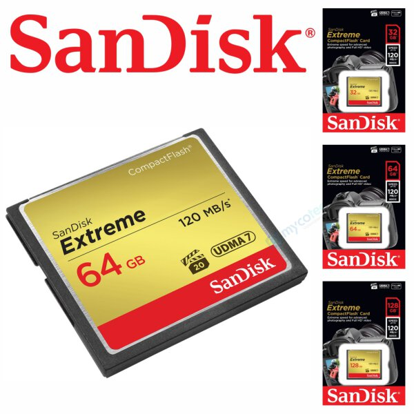 SanDisk Extreme CompactFlash Karte