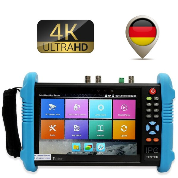 IP Kamera Tester 4K All in One